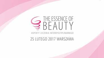 Dr Michał Michalik wśród wykładowców konferencji Essence of Beauty